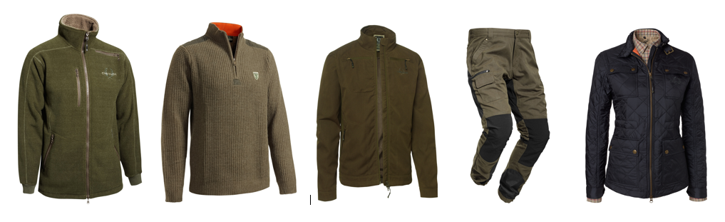 Bushveld Fleece, Rosebud pullover, Arizona Action jacket, Arizona Pro pants & ladies Avalon Quilted jacket - all available at The Powder Keg