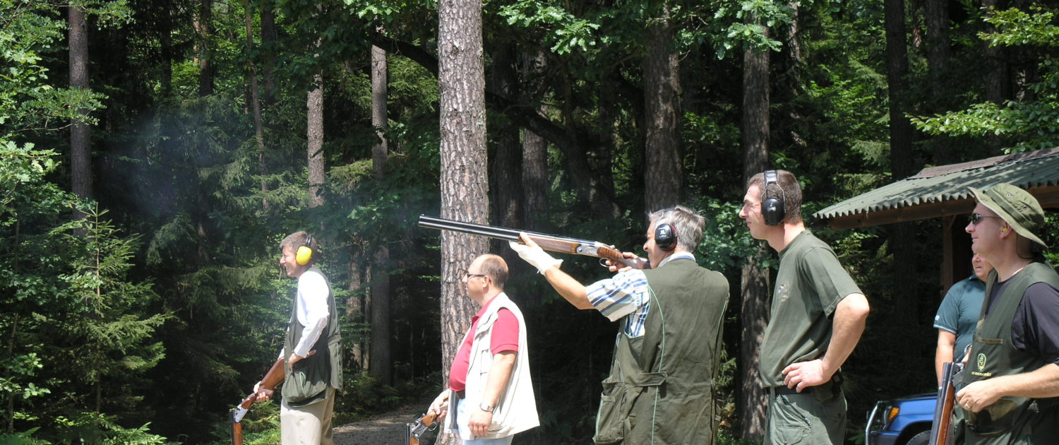 Shooting day for Foreign Military Attaches to Slovenia
