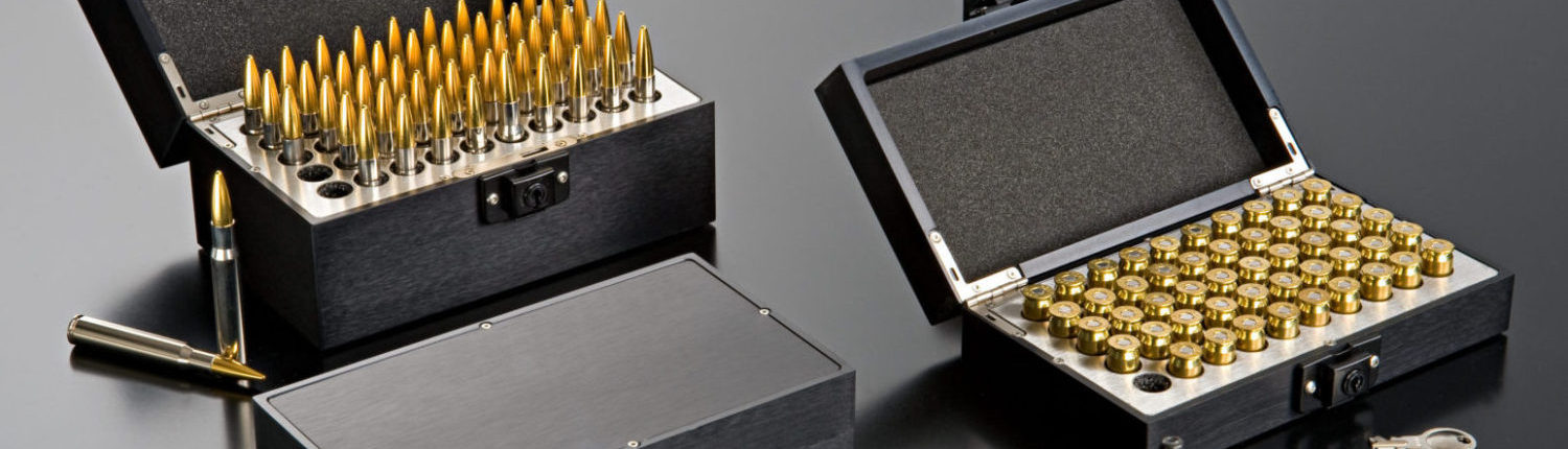 ZERO range of ammunition boxes in black- safer, stronger, better, cooler - unbeatable features