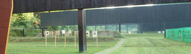 Shooting range Ljubljana Slovenia